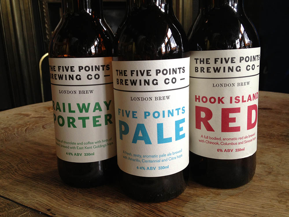 Five Points Brewery Beer