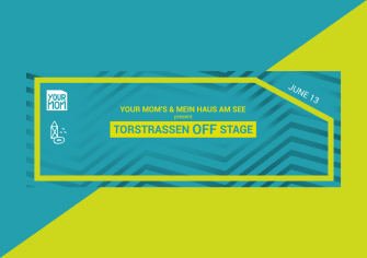 Your Mom's Announce Stage at Torstraßen Festival
