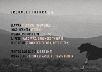 Grounded Theory 34 @ Arena Club